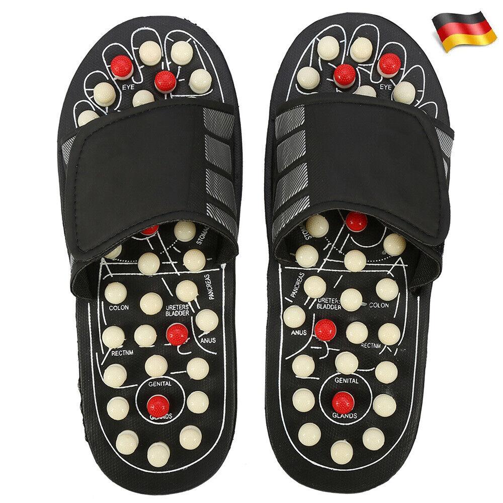 Akupressur Massage Slipper Fußmassagegerät Hausschuhe Schuhe Für Männer Frauen