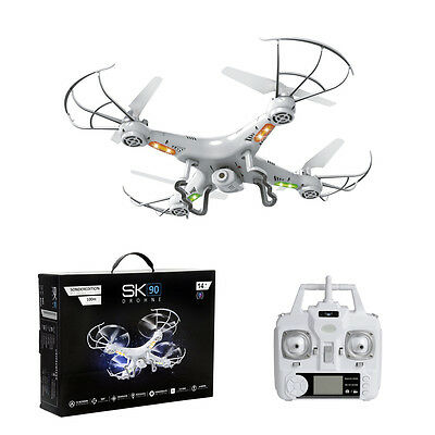 SK 90 SE 2,4 Ghz RC Drohne Quadrocopter mit HD Kamera | Headless und Return Home