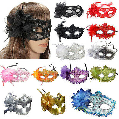 Costume Mask Gras Flower Diamond Masquerade Halloween For Party,Prom,Mardi Lace - Mardi Gras Masquerade Halloween Costumes