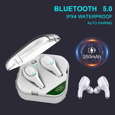 Wireless Headset Bluetooth Stereo Earphone Headphones For iPhone Samsung Huawei
