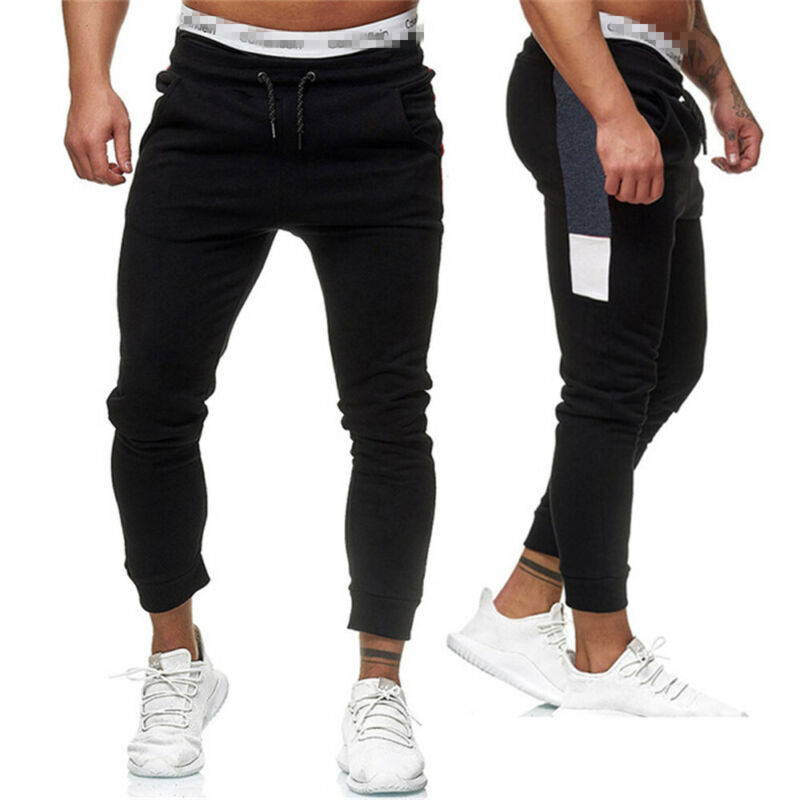 Mens Sweatpants Fitness Pants Workout Joggers Training Sports Gym Trousers