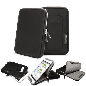 Black Travel Carrying Sleeve Stand Case Cover Nylon Pouch For 7