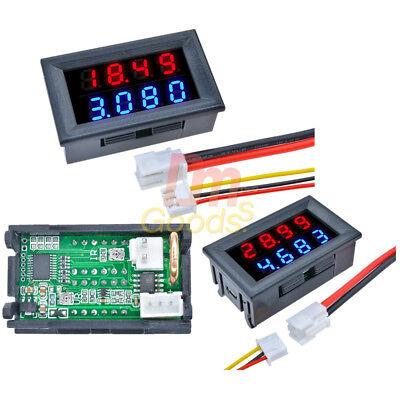 Bluered 4-bit 0-100v0-200v 10a Voltmeter Ammeter Led Amp Dual Volt Meter Gauge
