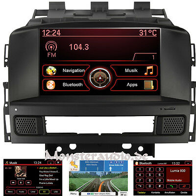 opel astra j navigation navi display monitor anzeige. Black Bedroom Furniture Sets. Home Design Ideas
