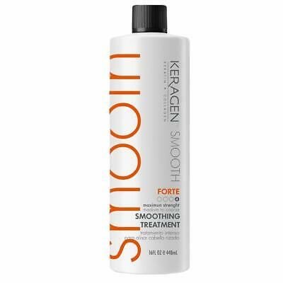 Brazilian Hair Keratin Smoothing Treatment Forte infused with Chocolate 16oz - Keratin Smoothing Treatment