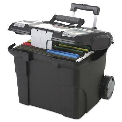 Storex 61507u01c Premium File Cart 15w X 16 38d X 14 14 To 30h Black New