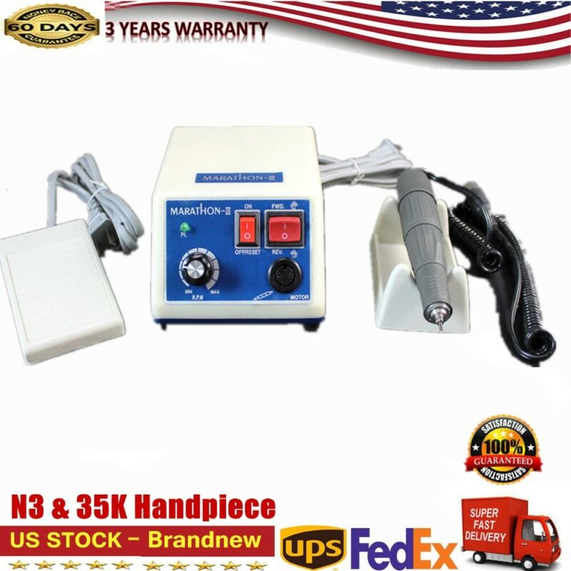 MARATHON -III Dental MICROMOTOR Electric 35000 RPM Handle Polishing Machine