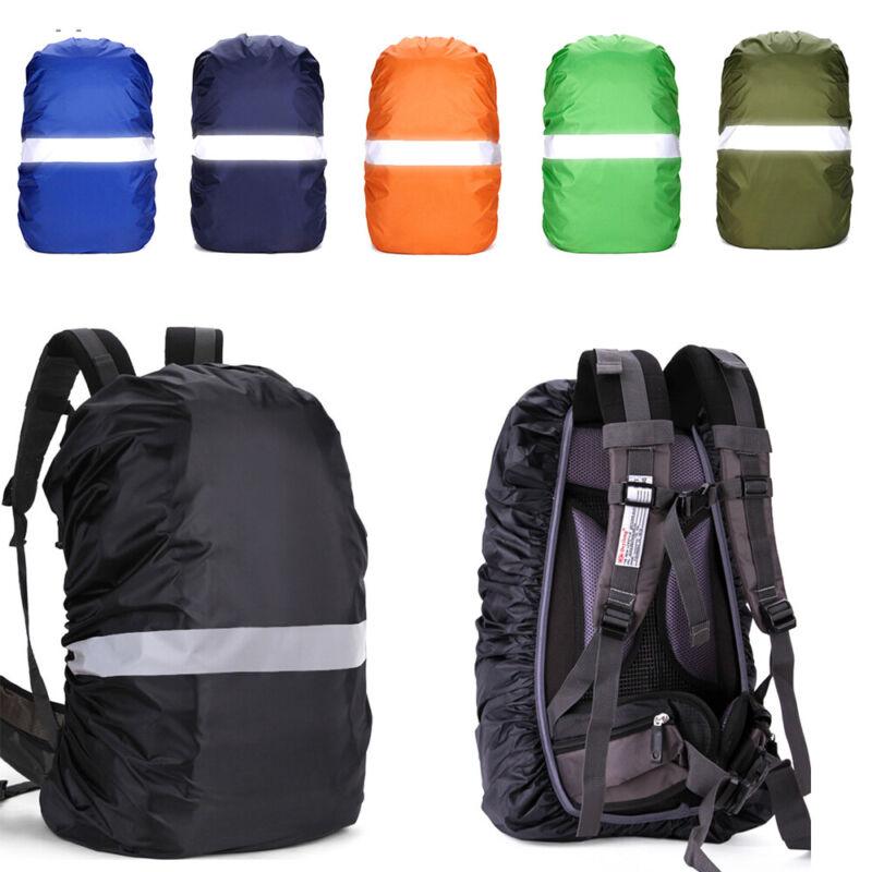 Cycling Travel Bag Raincoat Waterproof Fabrics Reflective  Backpack Rain Cover