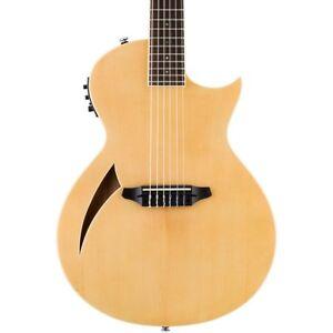 ESP LTD TL-6N Thinline Nylon String Acoustic-Electric Guitar 190839175915 OB