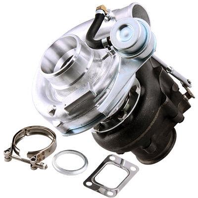T3T4 T04E V BAND Turbocharger 63 AR Internal Wastegate Universal Turbo 420HP