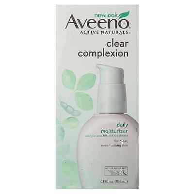 Aveeno Clear Complexion Salicylic Acid Acne-Fighting Daily F