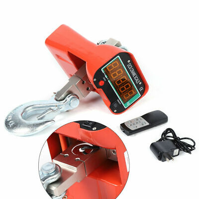 Industrial Hanging Scale Crane Scale With Lcd Display 6600 Lbs 3000kg Remote