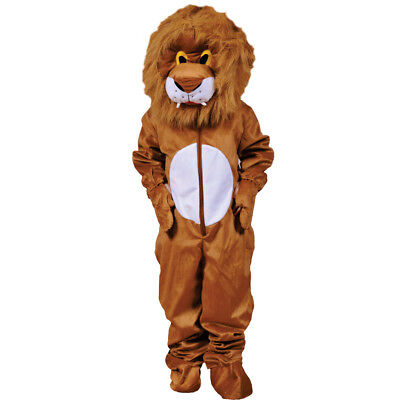 Scary Plush Lion Hairy Head Costume By Dress up America for Kids and Adults - Scary Costumes For Kid