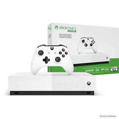 Microsoft Xbox One S All-Digital Edition Gaming Console - 1 TB NJP-00024-NG