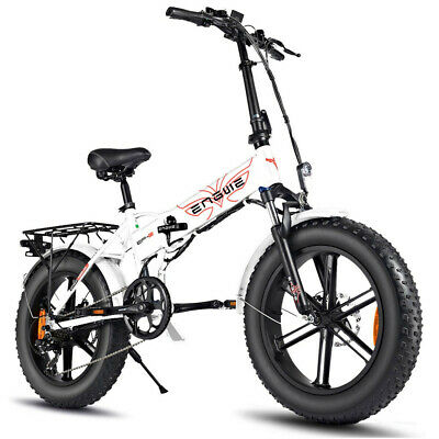 ENGWE EP-2 500W 20 pulgadas Fat Tire Bicicleta eléctrica plegable Mountain Beach