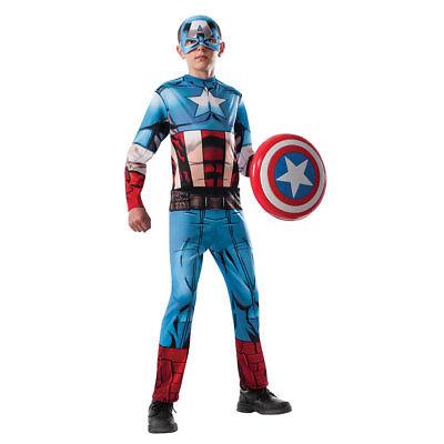 Captain America Costumes For Boys (Boys Avengers Captain America Halloween)