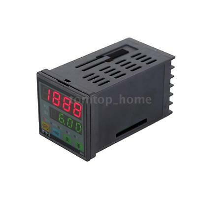 Acdc 90-260v Digital Timer Countdown Time Counter Panel Meter Relay Output No8g