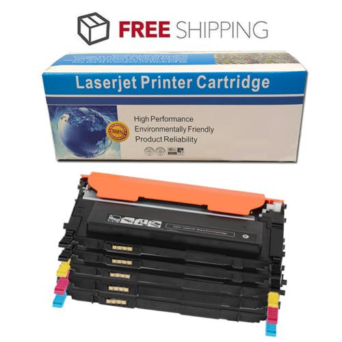 5pk Clt-k407s Black Color Printer Toner Cartridge For Sam...