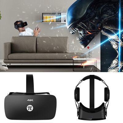 Pimax 4K Uhd Virtual Reality Vr Glasses 3D Pc Headset Dual Gyroscope W  Earphone