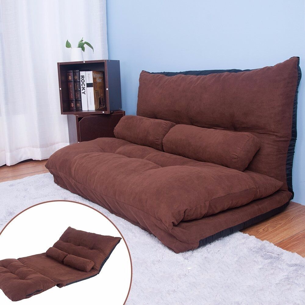 Double Sofa Bed Sale Adjustable Floor Double Sofa Bed Thicken Padded Seat Chair