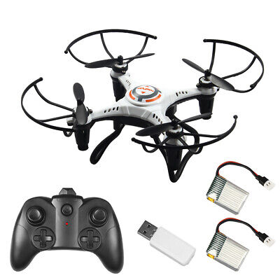 JX815-2 RC Mini Drone for Kids 2.4G 4CH RC Quadcopter Toy Headless Mode 360 C3H6