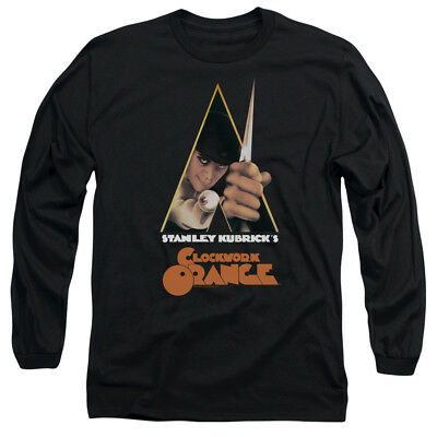 A Clockwork Orange Movie POSTER Licensed Adult Long Sleeve T-Shirt S-3XL