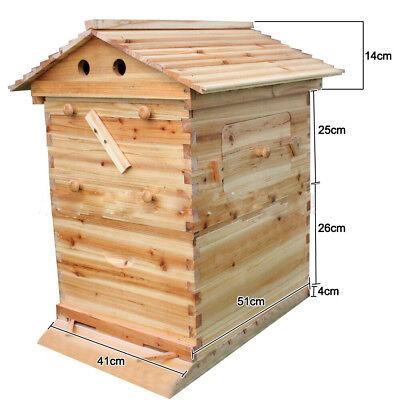 Honey Hive Beehive House Super Brood Box Cedarwood Super Brood Beekeeping