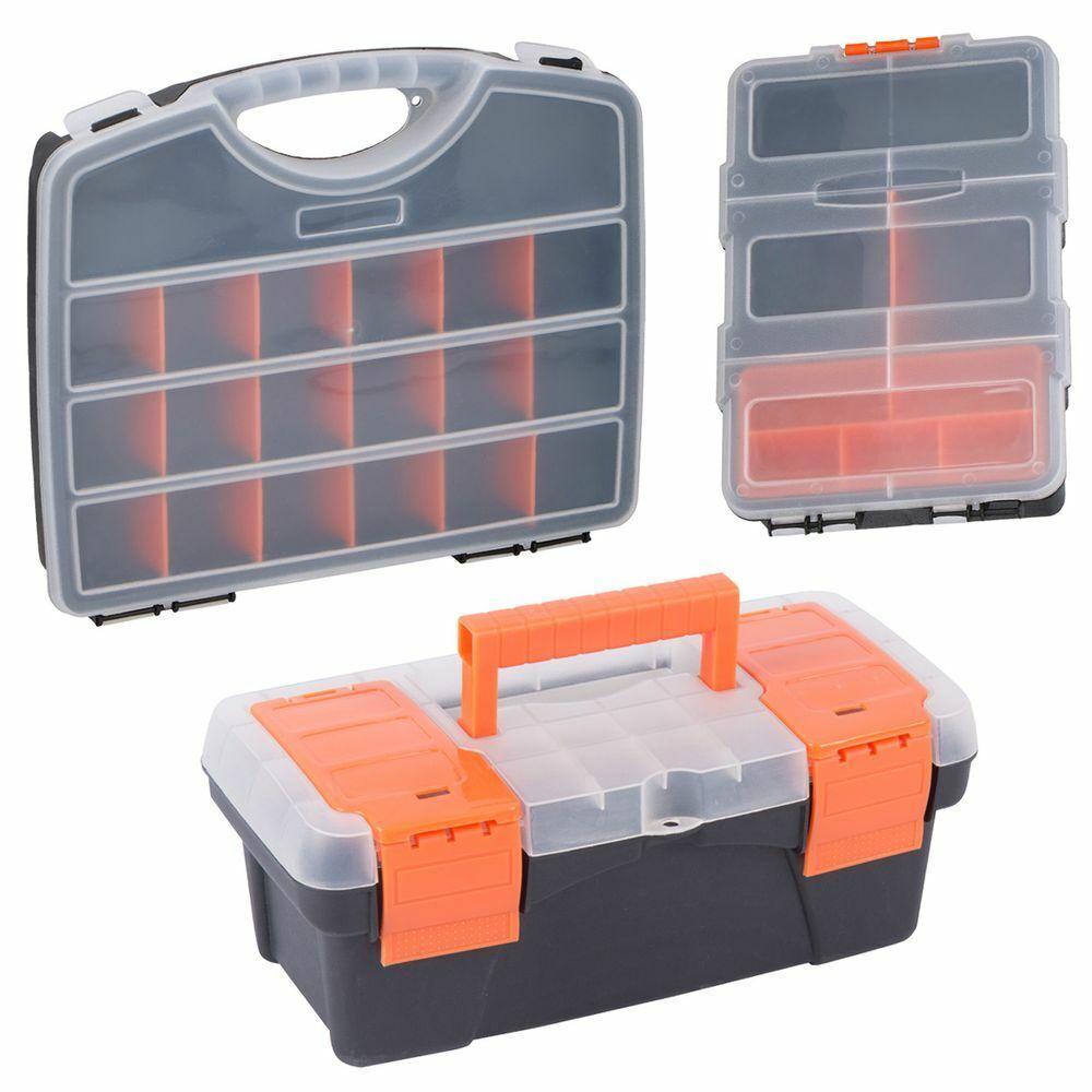 Zubehör Box Koffer Kiste Kasten Organizer Aufbewahrung Angelkoffer Werkzeugkiste