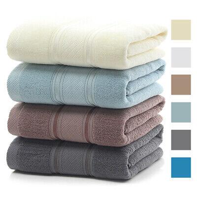 Premium Egyptian Cotton Bath Towels Ultra Plush Soft Absorbent Large Bath Sheet