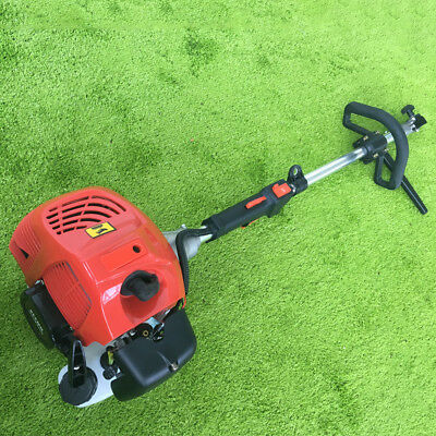 Snow Sweeper Broom Gas Power Walk Behind Tractor Cleaning 2.3hp 52cc Driveway