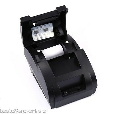 Zj - 5890k Portable 58mm 12v Esc Pos Receipt Thermal Printer For Epson Samsung
