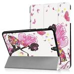 3-Vouw fee stand flip hoes Samsung Galaxy Tab S3 9.7