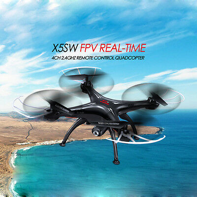 Syma X5SW RC Quadcopter Drone WIFI FPV with 2.0MP Camera for IOS iphone Android