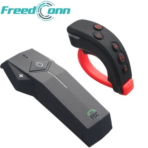 Bluetooth Intercom Communication Motorcycle Helmet Headset Handlebar Remote NFC