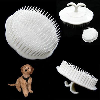Pet Hair Shampoo Scalp Body Massage Cleanning Brush Dog Cat Massager Comb Groom ()