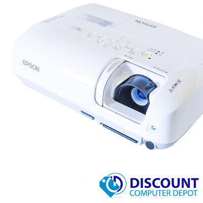 Epson PowerLite S6 LCD Projector 2200 Lumens 1080i 800 x 600 2000 Hours