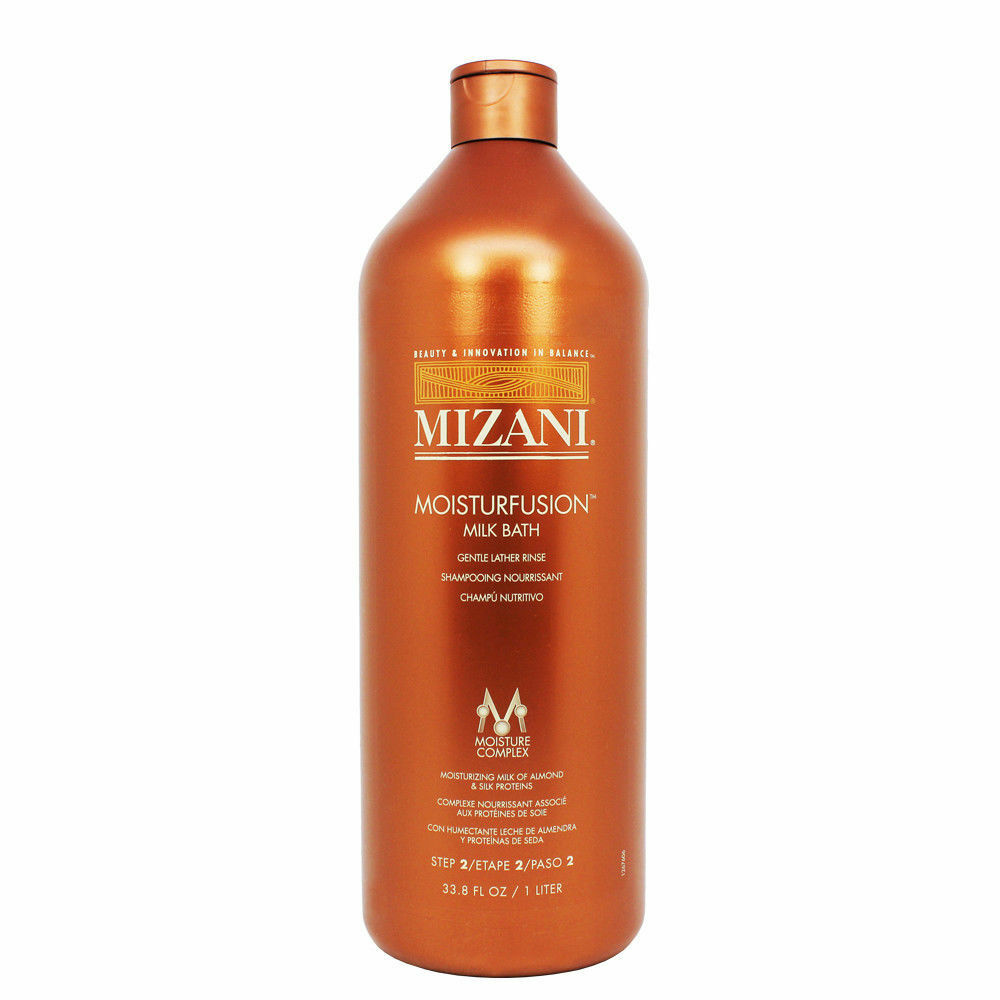 Mizani Moisturfusion Milk Bath 33.8oz Hair Care & Styling