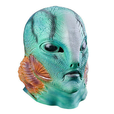 Halloween Scary Clown Latex Party Mask Friday costumes Horror Movie Cosplay
