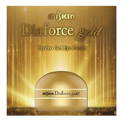 [Made In Korea] New MISKIN Diaforce Gold 60 sheets Hydro-Gel Eye Patch eye mask