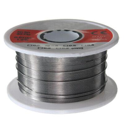 Fine Solder Wire 0.6mm 60/40 2%Flux Reel Tube Tin lead Rosin Core Soldering