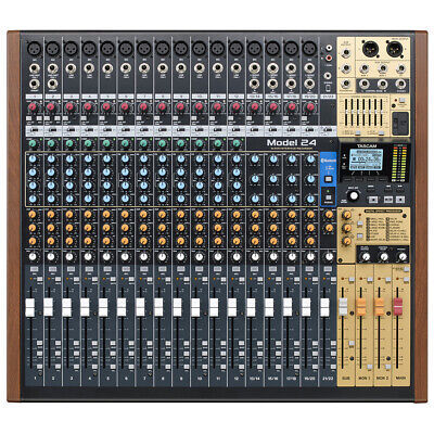 Tascam Model 24 Multi-Track Live Recording Console, 24 Chann