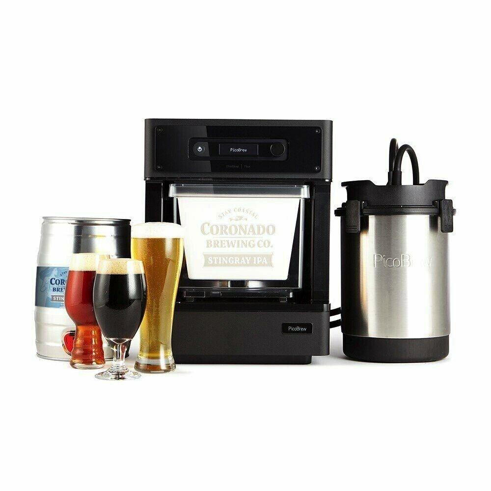 PicoBrew PICO Model C Beer Brewing Appliance Black W Extras Complete Kit Bundle