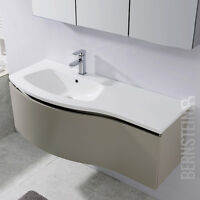 Bernstein Muebles De Baño Set 120cm Lavabo Armario Base - Espejo Optional -  - ebay.es
