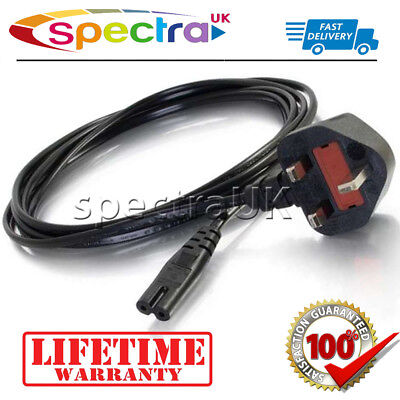 Power Cable Mains Lead for Playstation 4 5 & PS4 Slim PS5...