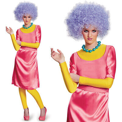 PATTY BOUVIER COSTUME THE SIMPSONS FANCY DRESS FUNNY TV FILM CARTOON OUTFIT