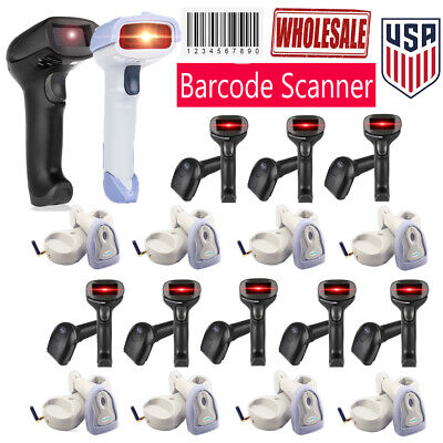 Wiredwireless Laser Barcode Scanner Usb Automatic Bar Code Reader Scan Pos Wy