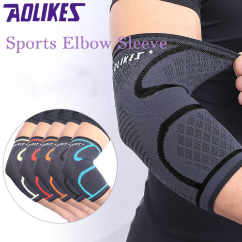 2X Elbow Brace Compression Support Sleeve Arthritis Tendonit