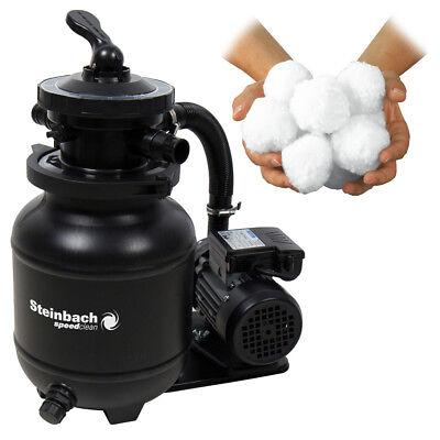Speed Filter (Speed Clean Classic 250N Sandfilteranlage + Filterballs Pool 4,5m³ Intex)