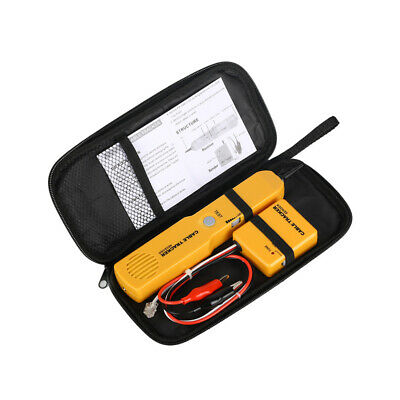 Network Wire Tester Tracker Telephone Line Cable Tracer Toner Lan Phone Rj11 New
