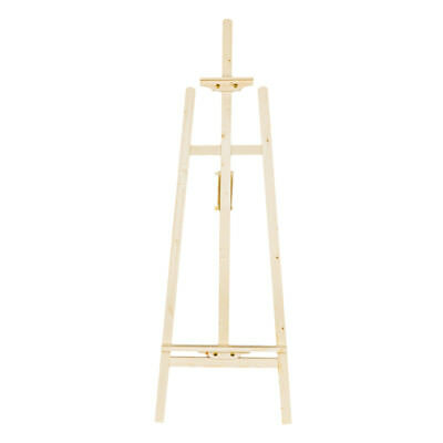 Durable Artist Wood Wooden Easel Drawing Art Stand Adjustable w/Dispaly Painting](Wooden Easel Stand)